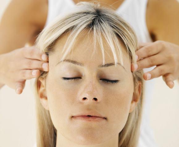 Китайский массаж головы
