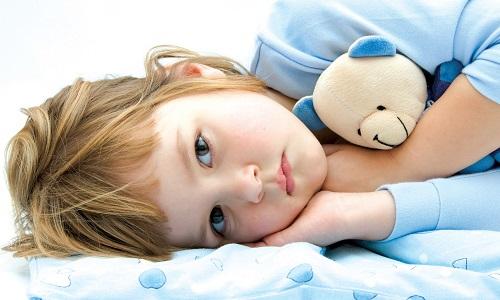 Головная боль у ребенка из-за усталости