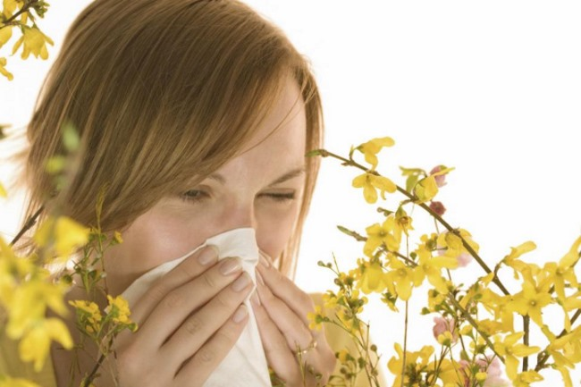 Цефалгия при аллергическом рините
