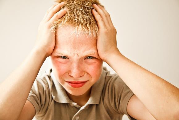 У мальчика нейроциркуляторная дистония