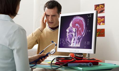 Головная боль вызвана изменением внутричерепного давления