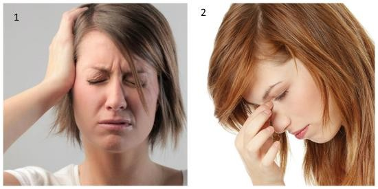 Отличия головной боли при мигрени и гайморите