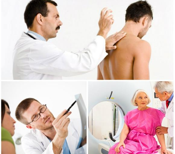 Методы исследования при жалобах на боли в затылочной области