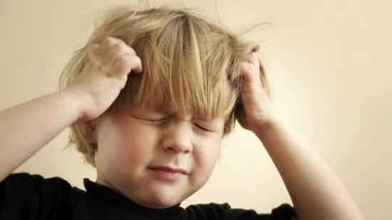 У ребенка цефалгия