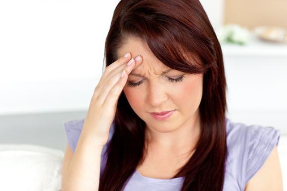 У женщины в положении болит голова