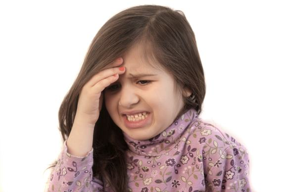 Детская мигрень имеет целый ряд особенностей