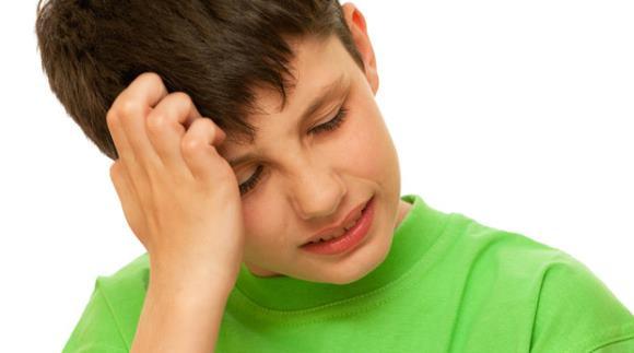 Пучковая головная боль у ребенка