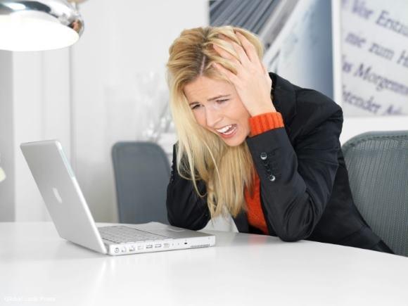 При стрессе существует вероятность появления болей в затылке