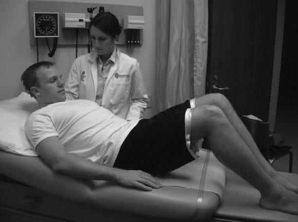 Проверка менингеальных симптомов