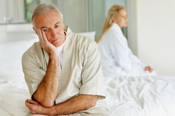 Снижение сексуальной функции после инсульта может быть связано с психологическими, а не с физиологическими причинами
