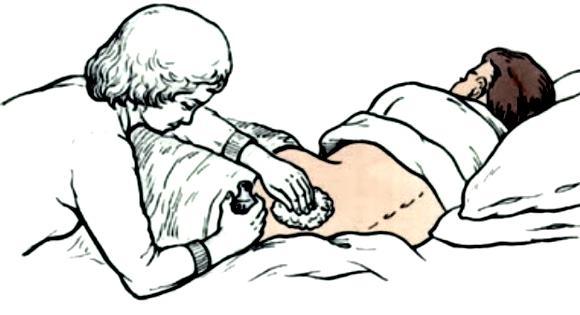 Предупреждение омертвения мягких тканей в местах их длительного сдавления