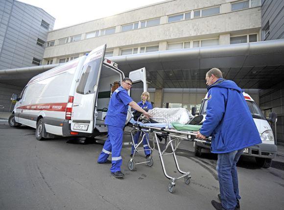 Транспортировка на скорой помощи