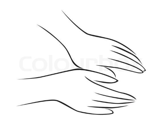 Ногти на руках должны быть коротко острижены
