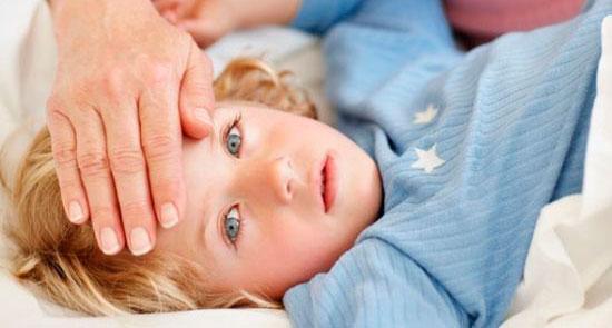 Ребенок с менингитом