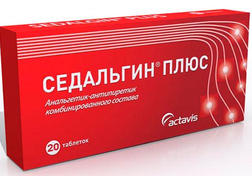 Седальгин для обезболивания головной боли