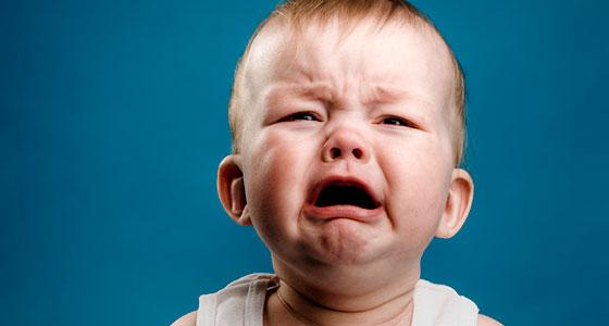 Беспокойство ребенка при ЧМТ