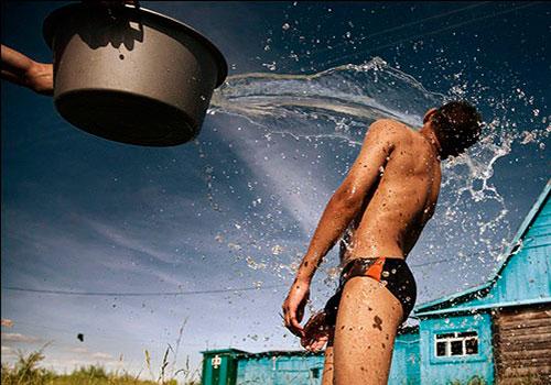 Обливания водой для восстановления после инсульта
