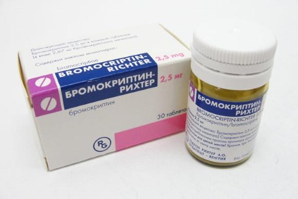 Лекарственное средство, применяемое для терапии аденомы гипофиза