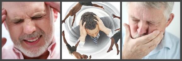 Цефалгия, тошнота и рвота - общемозговые симптомы
