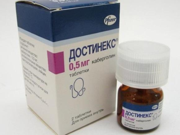 Достинекс (каберголин)