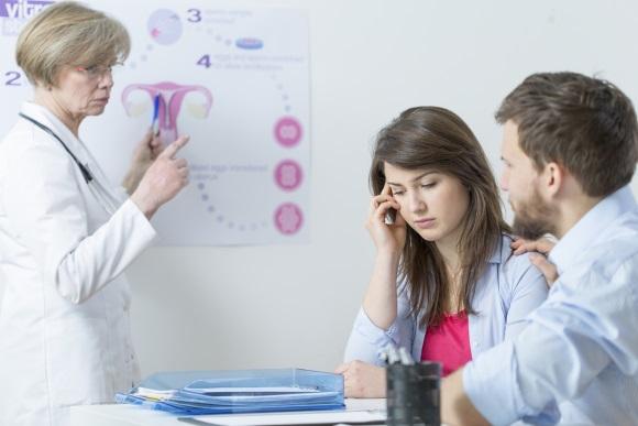 Пациентка на приеме у гинеколога-эндокринолога