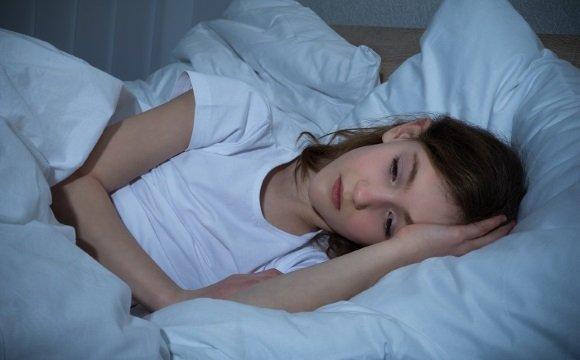 У девочки нарушение сна