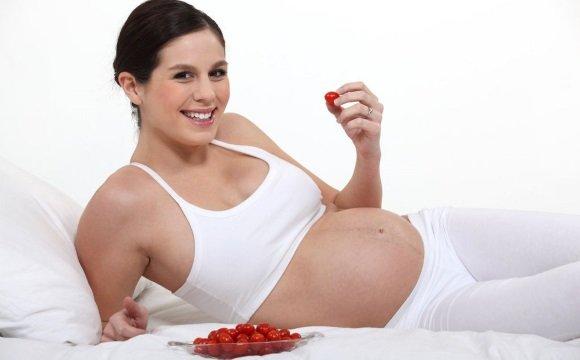 Беременная в хорошем настроении