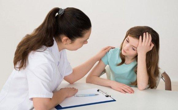 На приеме у детского невролога