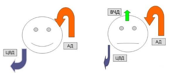 ЦПД измеряется в миллиметрах ртутного столба