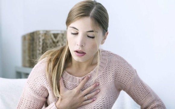 Частое и поверхностное дыхание