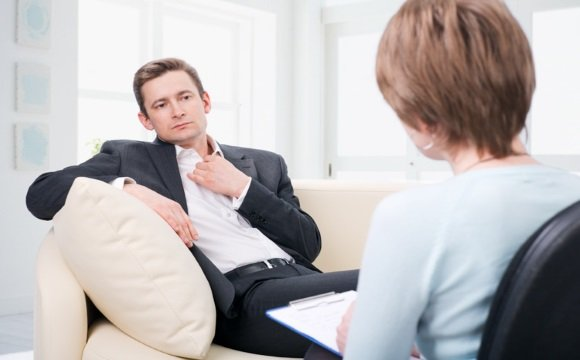 На консультации у психотерапевта
