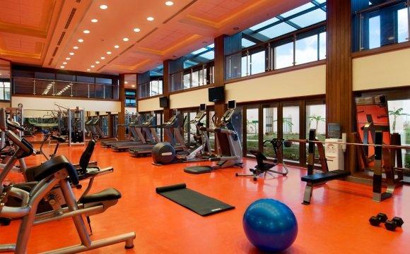 Зал для занятия фитнесом