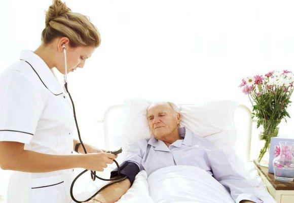 У пациента постельный режим