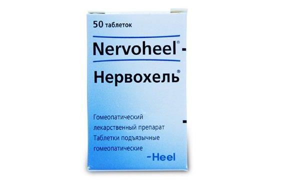 Подъязычные таблетки Нервохель