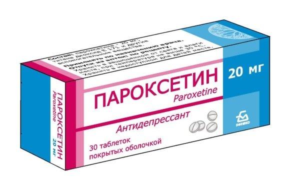 Антидепрессант Пароксетин