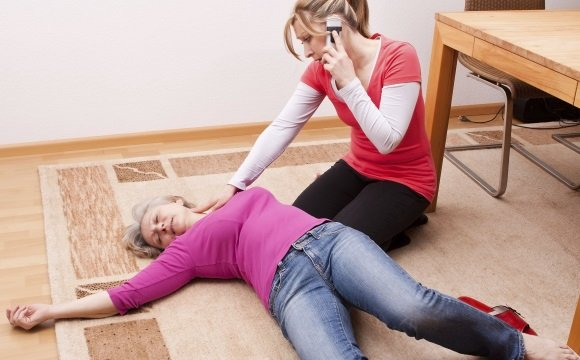 Кардиогенный обморок у женщины