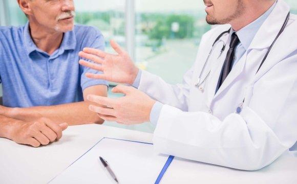 У психотерапевта при болезни Паркинсона