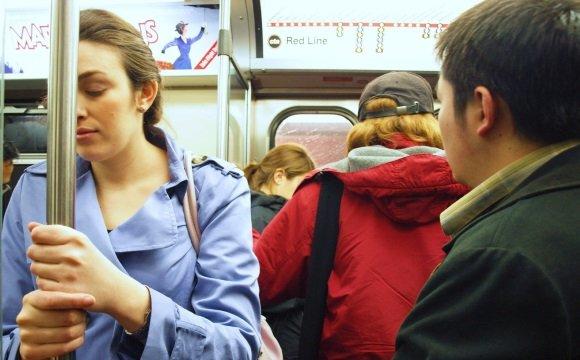 Женщину укачало в автобусе