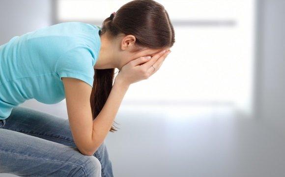 У девушки эмоциональное потрясение