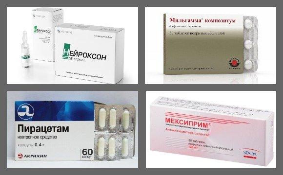 Медикаментозное лечение ДЭП