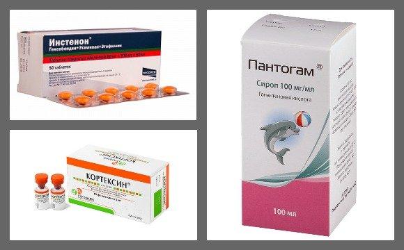 Препараты для лечения энцефалопатии
