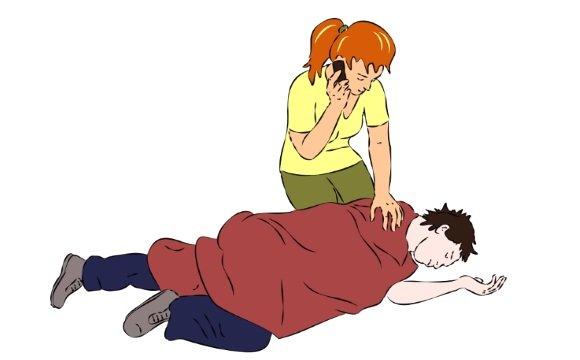 Оказание первой помощи при синкопе