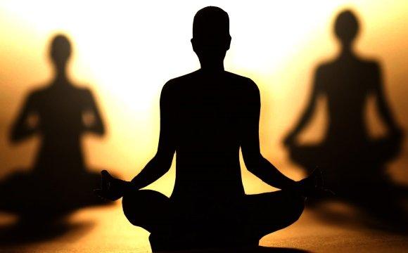 Медитация служит как успокоительное средство
