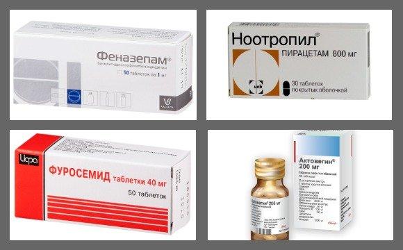 Препараты для лечения посттравматической энцефалопатии