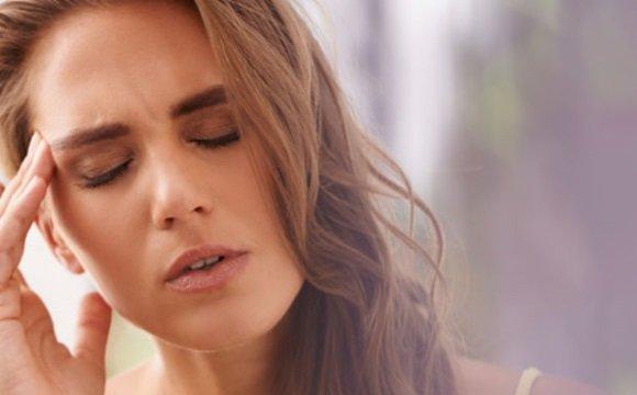 Мучительная головная боль при мигрени