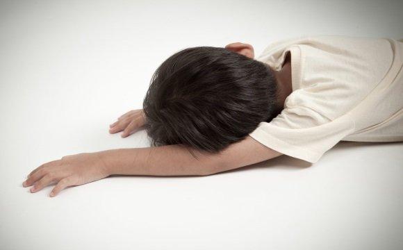 Ребенок в обмороке
